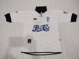 Camisa Corinthians Oficial Topper - Comemorativa 90 anos Assinatura do Ronaldo Fenômeno.