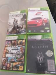 Jogos Xbox 360 Originais - Semi Novo