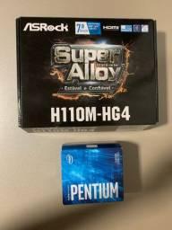 Kit Pentium g4560 + h110m asrock