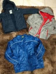 Jaquetas tamanho 6 e 8