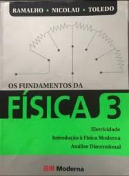 Livro de física- Os Fundamentos da  Física 3
