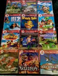 Vendo Jogos de Play 2 e Acessórios