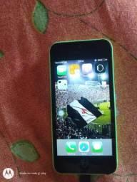 iPhone 5c e fone sem fio
