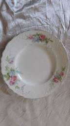 Prato antigo de porcelana inglesa