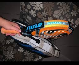 Raquete de Padel sane + bolsa babolat