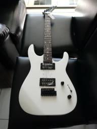 Guitarra jackson js 11 dinky gloss white nova melhor preço