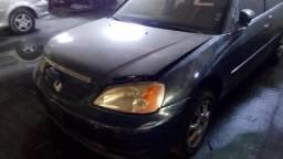 Honda civic 1.7 2004 para pecas