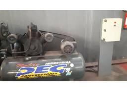 Compressor de Ar 10hp Trifásico 175 Psi Napr-40/415