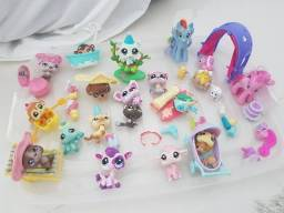 Kit My little pony e littlelest pet shop