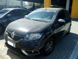 Renault Sandero 1.0 GT-line 18/19, Completo, Preto, Carro Extra 9.000km - 2019