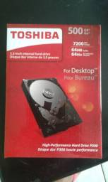 Hd 500gb toshiba