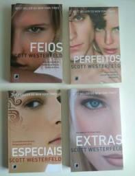 4 livros novos, nunca lidos, por R$40,00 (sinopse na descrição)