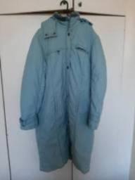 Casaco Longo Azul para Inverno marca Camien