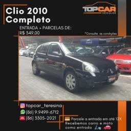 Clio 1.0 2010 Completo - 2010