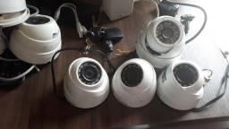Kit câmera e alarme