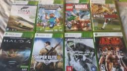 Vendo jogos originais pra Xbox 360 bloqueado