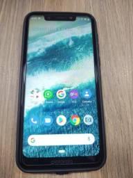 Motorola One 64GB - Black, sem arranhões