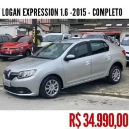 LOGAN 2015/2015 1.6 EXPRESSION 8V FLEX 4P MANUAL
