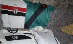 Lote camisas de futebol variadas c485a5c9872bb