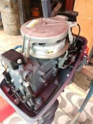 Motor de popa yamaha 8 hp, 2015, rabeta longa, ssuuppeer conservado