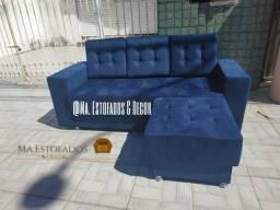 Sofá chaise Novo// preço de fábrica