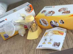 Extrator de leite manual 150 ml - medela harmony