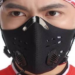 Mascara anti poluição virus com válvula ciclismo bike bicicleta caminhada corrida esportes