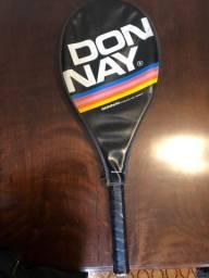 Raquete de tênis antiga donay