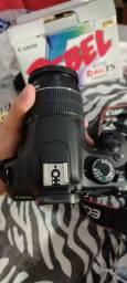 Câmera Canon t5 semi nova aceito cartão