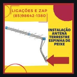 Antena espinha de peixe - Antena Terrestre - Instalação em todos os bairros