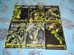 HQs monstro do pantano nova edição 6 volumes