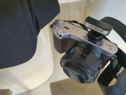 Câmera NX500 Completa com Flash