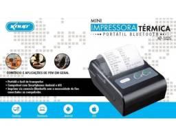 Mini Impressora Térmica Portátil Bluetooth Knup K-1025