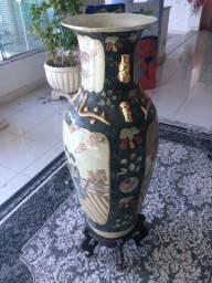 Vaso legítimo Satsuma 99 cm de altura