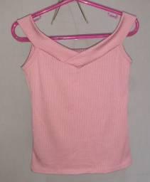 Blusinha rosa