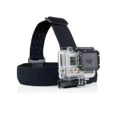 Suporte Cabeça GoPro Câmeras Ação