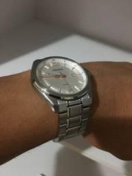 Relógio orient prata MSS1 342