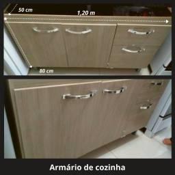 Conjunto de Armarios de Cozinha - 2 Peças