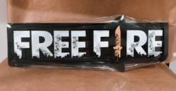 Placa Decorativa Free Fire