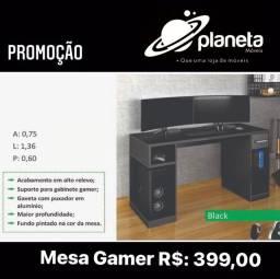 Mesa Gamer Black Promoção