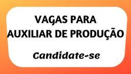 Vaga feminina p/auxiliar de produção