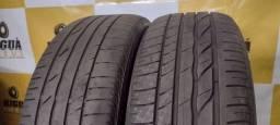 2 pneus 205/55/16 BRIDGESTONE SEMI-NOVOS