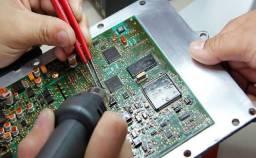 eletrônico equipamento Reparo manutenção conserto telecomu