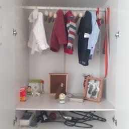 Guarda-Roupa Infantil 3 Portas Uli+guarda roupa aéreo peroba
