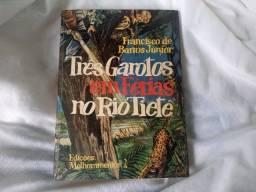 Livro Três Garoto Em Férias No Rio Tietê