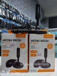 Antena Digital Interna Top ( Cabo de 3 metros )