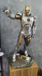 Iron man 60cm pintado a mão