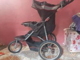 Carrinho de bebê roda 100% alumínio