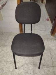 Cadeira fixa para escritório