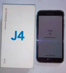 Galaxy J4 32GB (zero, so um unico detale)
